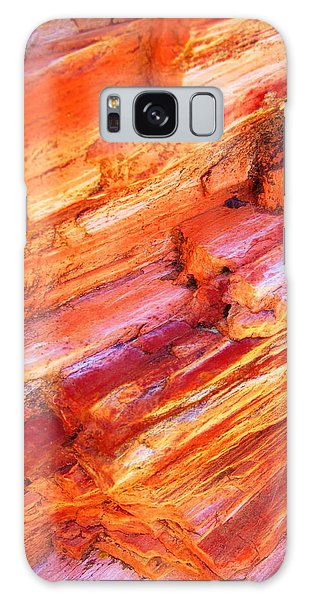 Petrified Abstraction No 1 Galaxy Case