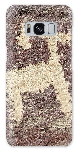 Petroglyph - Fremont Indian Galaxy Case by Breck Bartholomew
