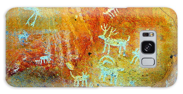 Petroglyph Panel Work 12 Galaxy Case