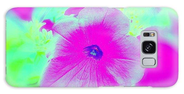 Petunia Glow E Galaxy Case by Greg Moores