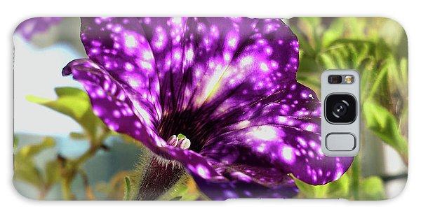 petunia nightsky,Helloween colors  Galaxy Case by Tamara Sushko