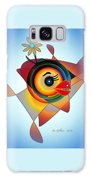 Petunia Parrot 2 Galaxy Case