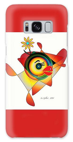 Petunia Parrot Galaxy Case