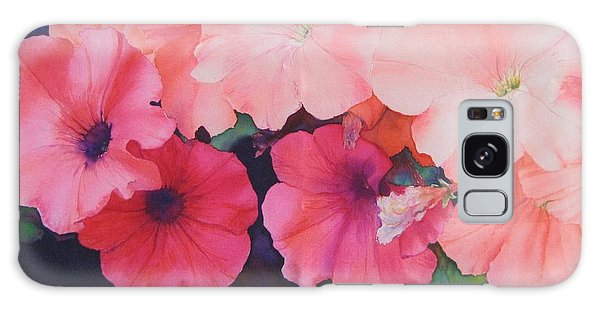 Petunias Galaxy Case