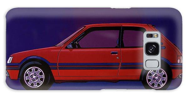 Automobile Galaxy Case - Peugeot 205 Gti 1984 Painting by Paul Meijering
