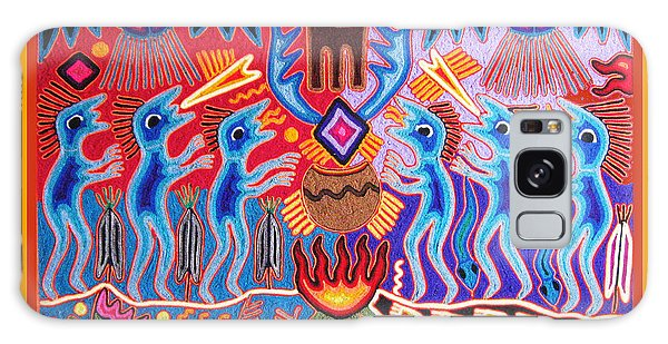 Peyote Shaman Hunting Ritual Galaxy Case