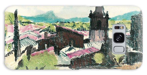 Peyruis Village In Provence Galaxy Case by Martin Stankewitz