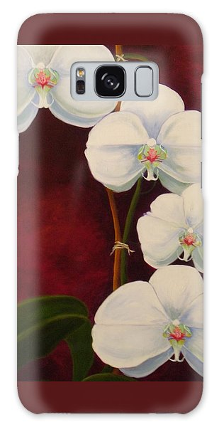 Phaleanopsis Galaxy Case by Anne Marie Brown