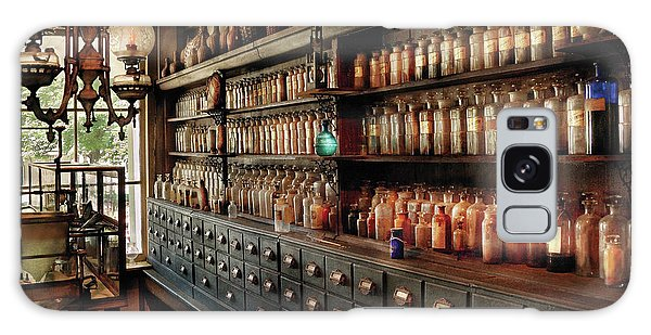 Pharmacy - So Many Drawers And Bottles Galaxy Case