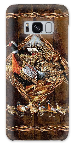 Pheasant Galaxy S8 Case - Pheasant Lodge by JQ Licensing