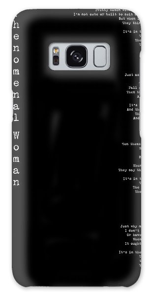 Phenomenal Woman By Maya Angelou - Feminist Poetry Galaxy Case