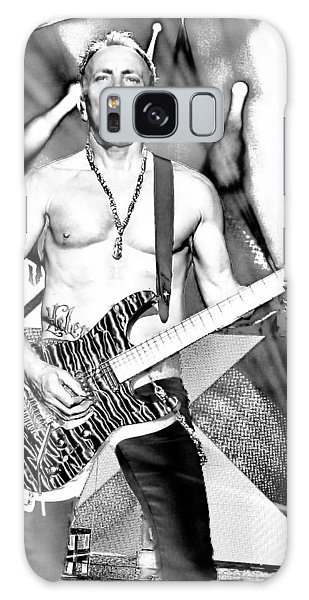 Phil Collen With Def Leppard Galaxy Case by David Patterson