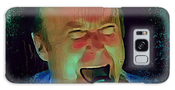 Phil Collins Ha Ha Ha Galaxy Case