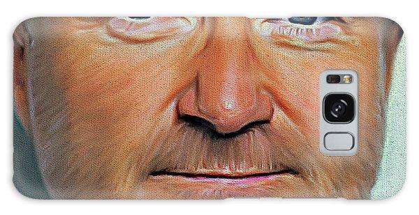 Phil Collins Portrait Genesis 11 Galaxy Case