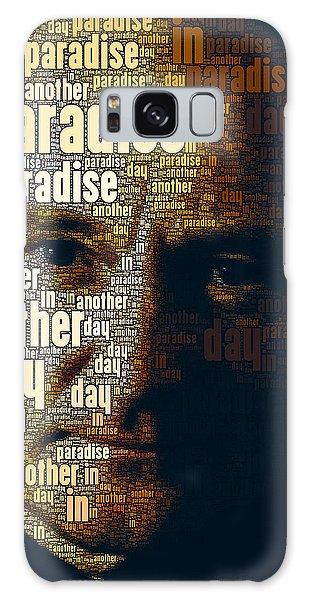 Phil Collins Word Portrait  Galaxy Case