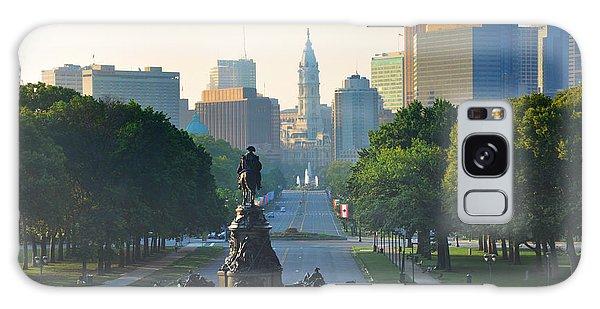 Philadelphia Benjamin Franklin Parkway Galaxy Case