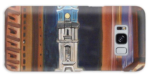Philadelphia City Hall Galaxy Case by Patricia Arroyo