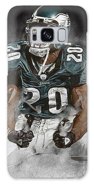 Philadelphia Galaxy Case - Philadelphia Eagles Brian Dawkins The Legend by Jordan Spector