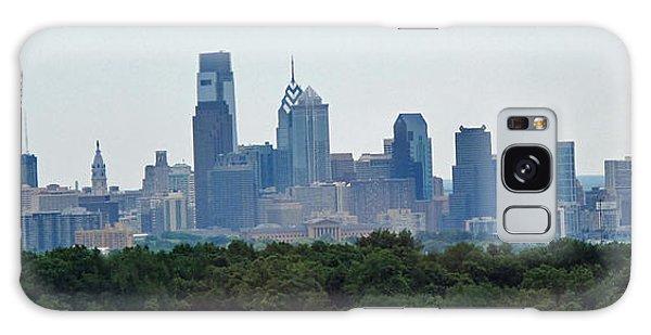 Philadelphia Green Skyline Galaxy Case
