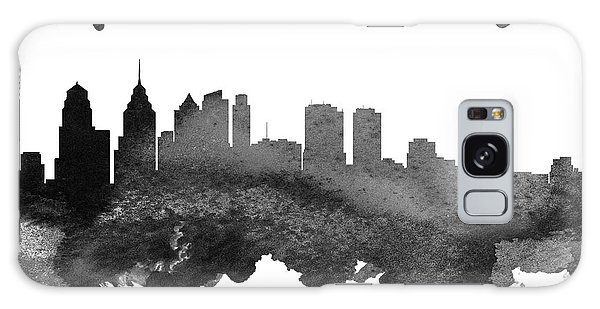 Philadelphia Pennsylvania Skyline 18 Galaxy Case by Aged Pixel