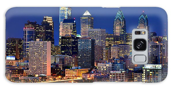 Philadelphia Skyline At Night Galaxy S8 Case