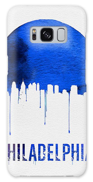 Philadelphia Skyline Blue Galaxy Case by Naxart Studio
