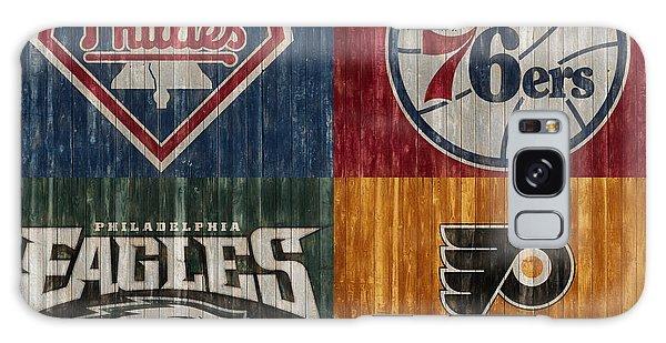 Philadelphia Sports Teams Galaxy Case