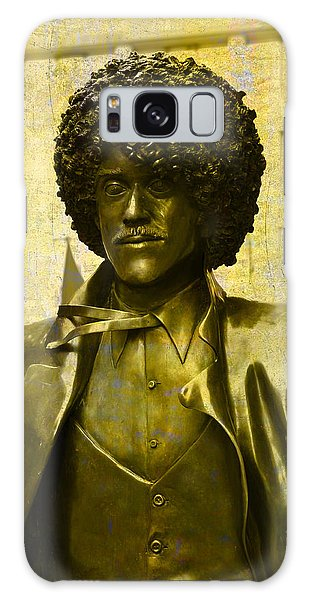 Philip Lynott Statue Galaxy Case by Martina Fagan