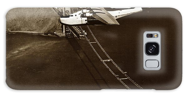 Philippine Clipper A Pan Am Clipper Over The Golden Gate Bridge  1935 Galaxy Case