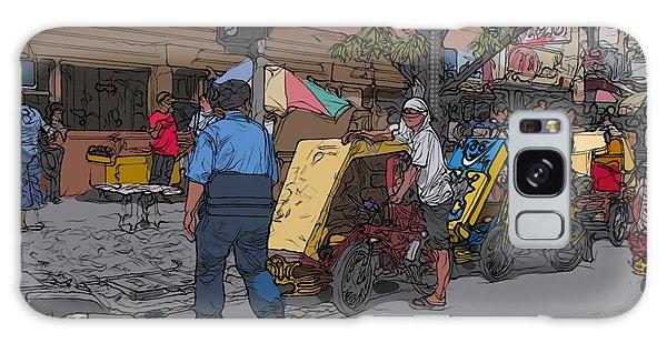 Philippines 906 Crosswalk Galaxy Case