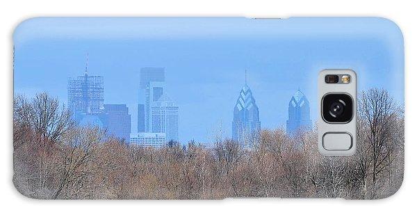Philly From Afar Galaxy Case by Kathy Eickenberg