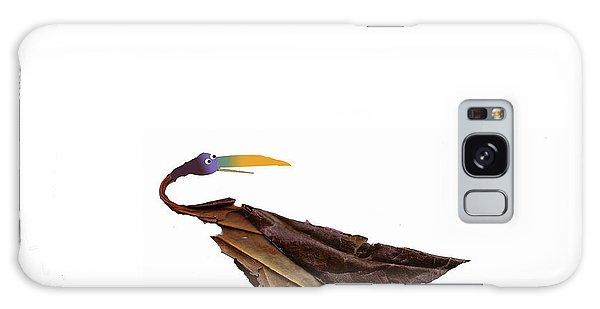 Philosophical Bird Galaxy Case