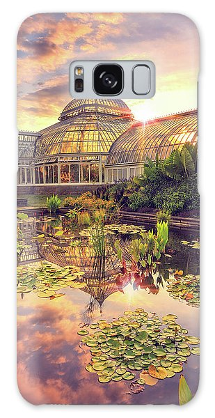 Lilys At Phipps  Galaxy Case