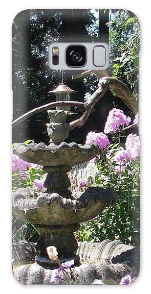 Phlox Garden Galaxy Case by Judyann Matthews