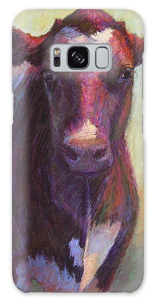 Phoebe Of Merry Mead Farm Galaxy Case by Susan Williamson