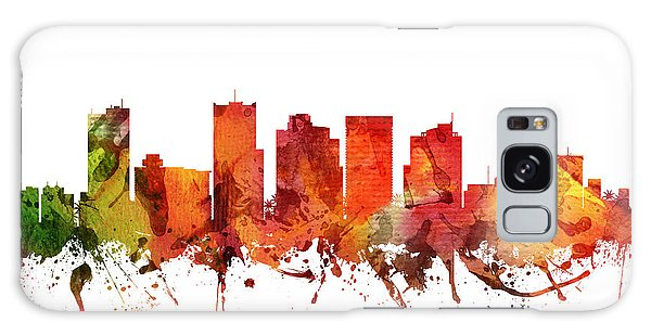 Colours Galaxy Case - Phoenix Cityscape 04 by Aged Pixel