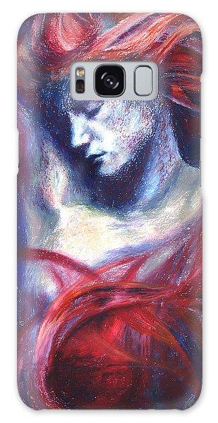 Phoenix Fire Galaxy Case by Ragen Mendenhall