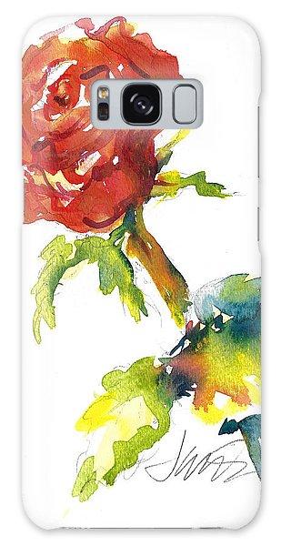 The Phoenix Rose Galaxy Case