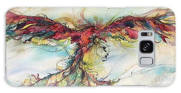 Phoenix Rainbow Galaxy Case by Christy Freeman
