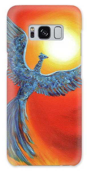 Mythological Galaxy Case - Phoenix Rising by Laura Iverson