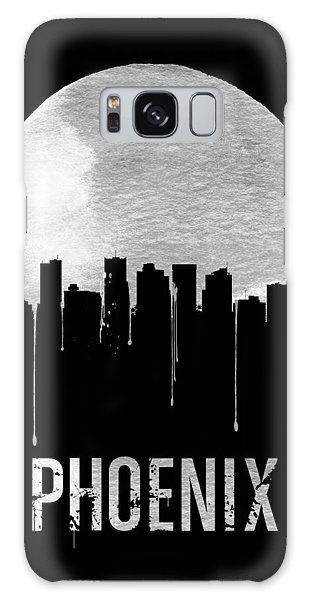 Phoenix Skyline Black Galaxy Case