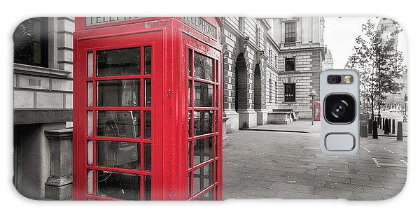Phone Booths In London Galaxy Case