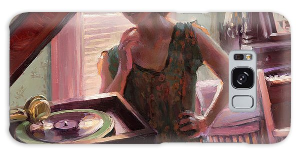 Record Galaxy Case - Phonograph Days by Steve Henderson