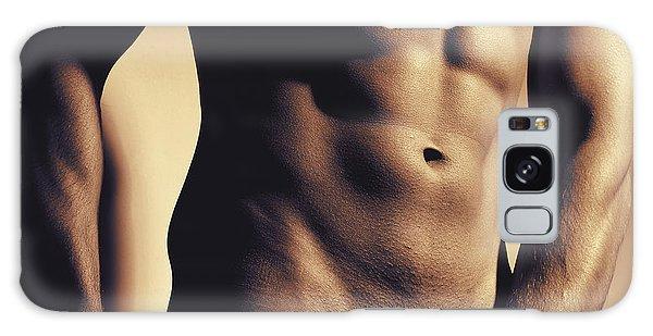 Photograph Of A Sexy Man #9981g Galaxy Case