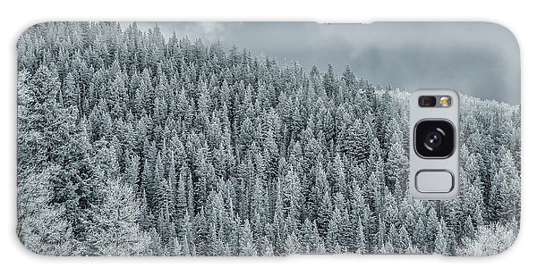Winter Pines Galaxy Case