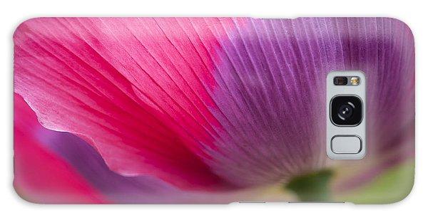 Poppy Close Up Galaxy Case