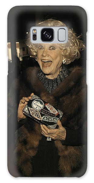 Phyllis Diller Galaxy Case by Nina Prommer