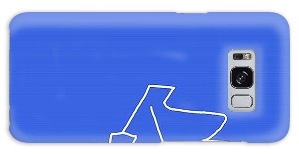 Piano In Blue Prints Available At Galaxy Case by David Bridburg