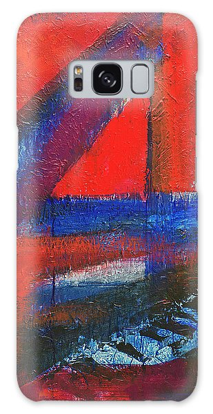 Piano In The Red Room Galaxy Case by Walter Fahmy