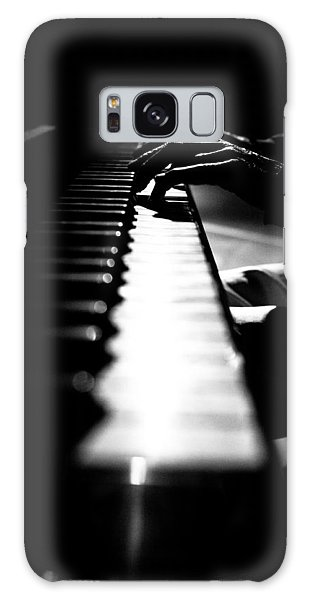 Piano Player Galaxy Case